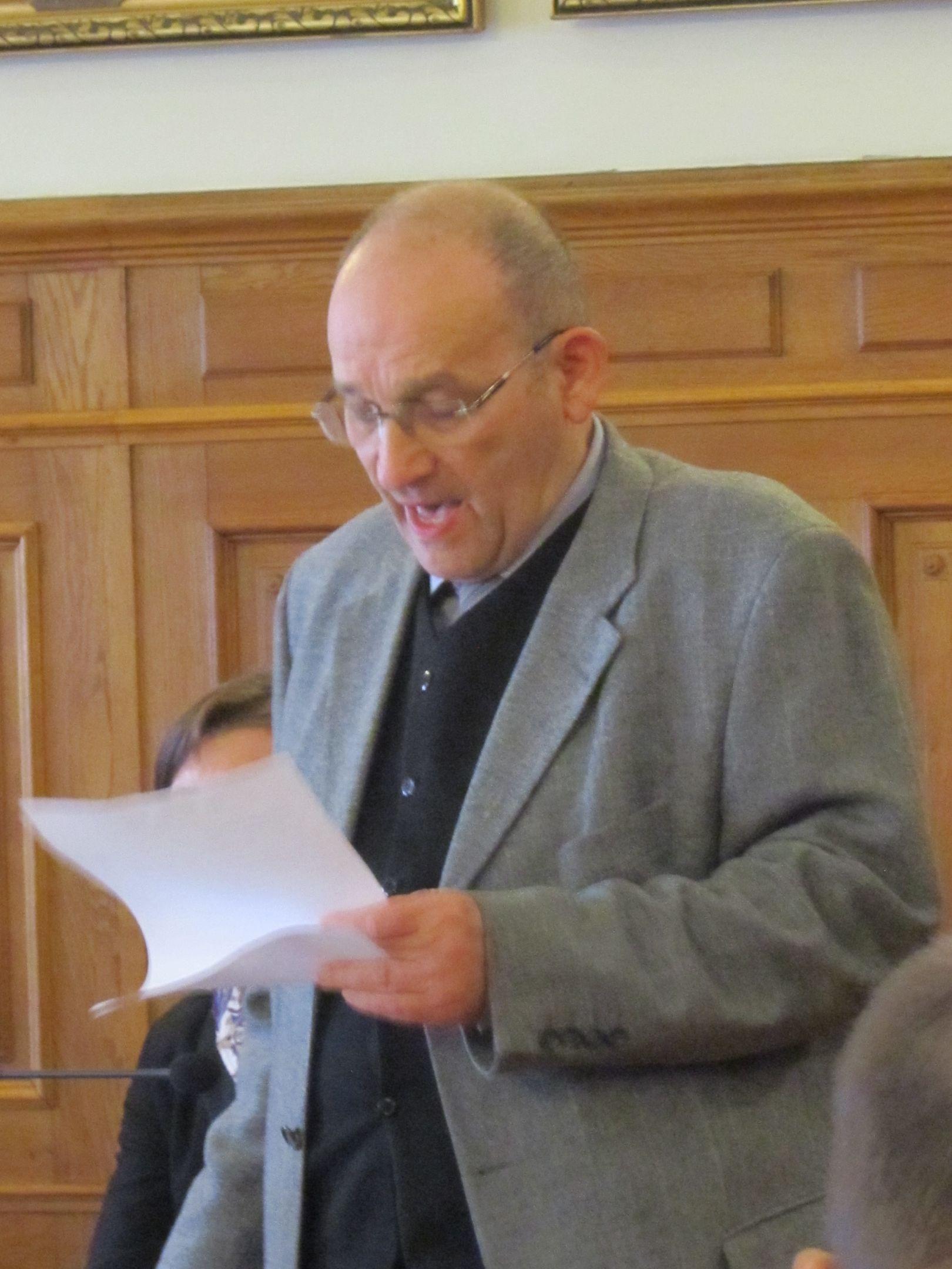 Schwartz Róbert, a Kolozsvári Zsidó Hitközség elnöke