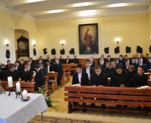 Tanévnyitó a gyulafehérvári papnevelő intézetben 2016-ban (Fotó: SIS)